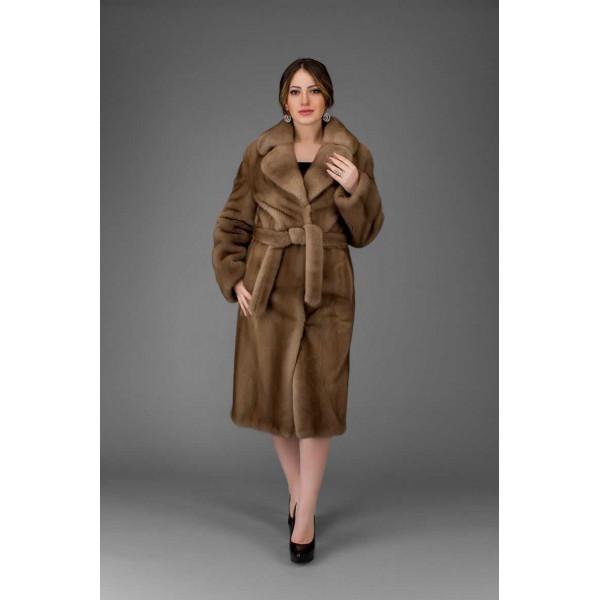 Brooklyn mink fur coat