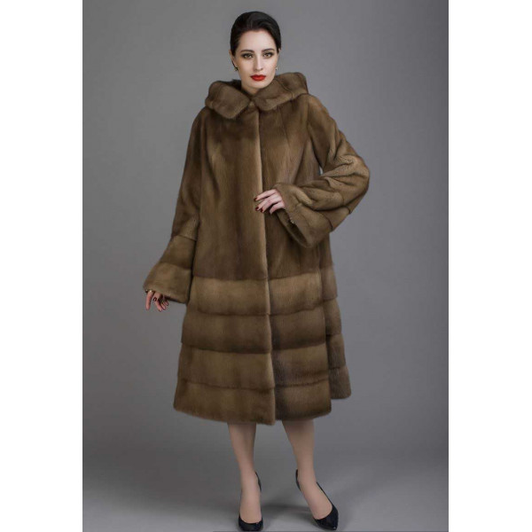Julian mink fur coat