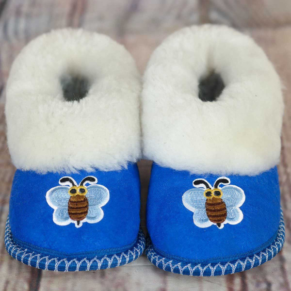 """""""Maya bee"""" children's slippers"""
