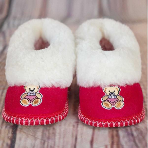 """""""Teddy bear"""" children's slippers"""