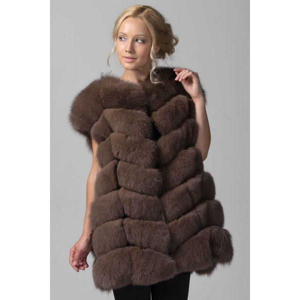 Elegant Fox fur Vest