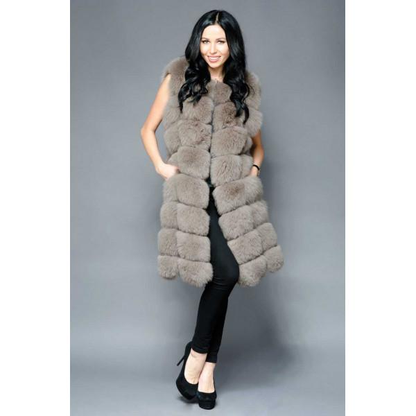 Fashionable Fox fur Vest