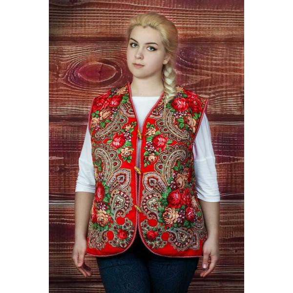 Vest Russian Beauty